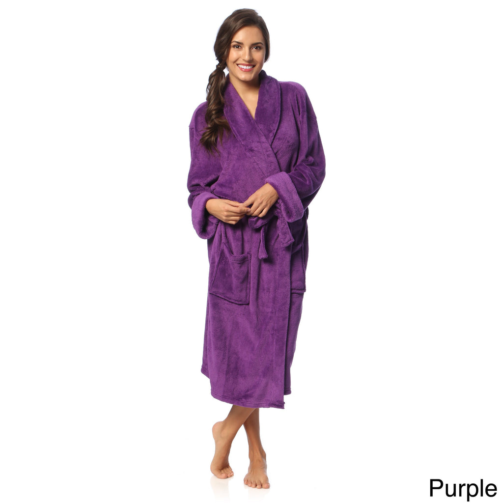 Bath Robe Microplush - Women's