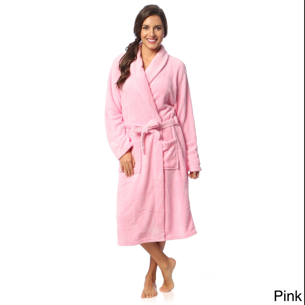 Microplush Bath Robe - Women's