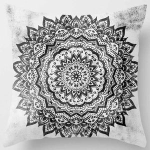 Bohemian mandala double sided printing square pillowcase home decoration 45cm*45cm