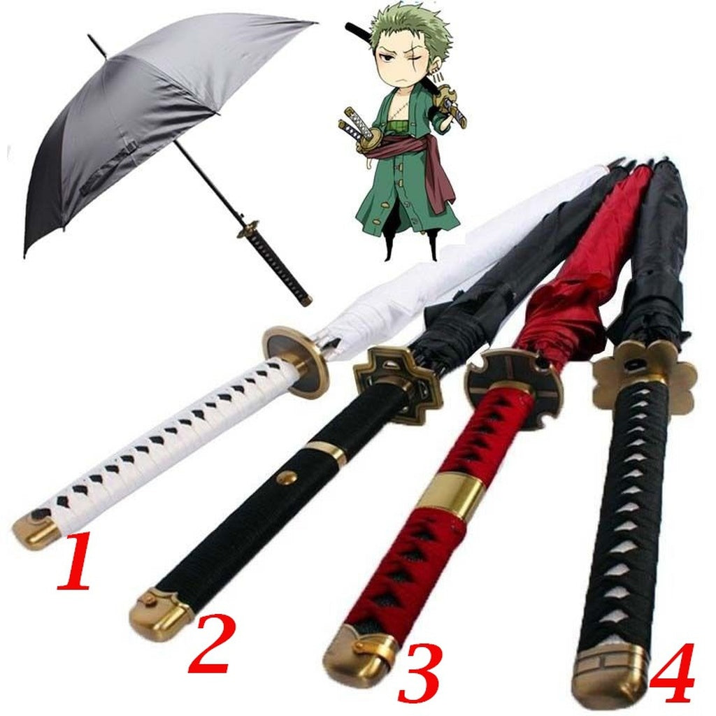 Straight Handle Warrior Samurai Umbrella