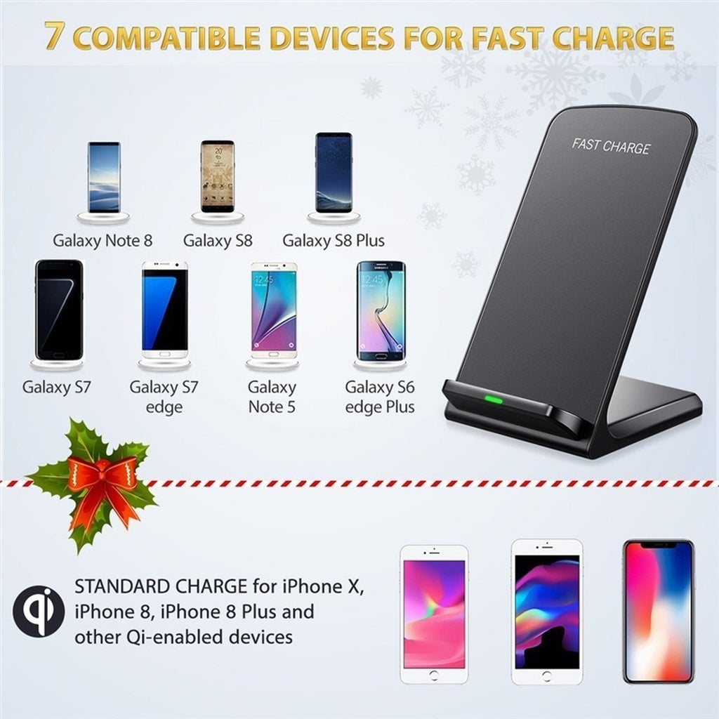 Fast Wireless Charger New Quick Charge For Samsung Original S8 Plus Charging Galaxy