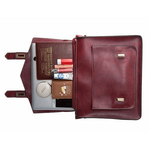 ECOSUSI PU Leather Quality Messenger Bags