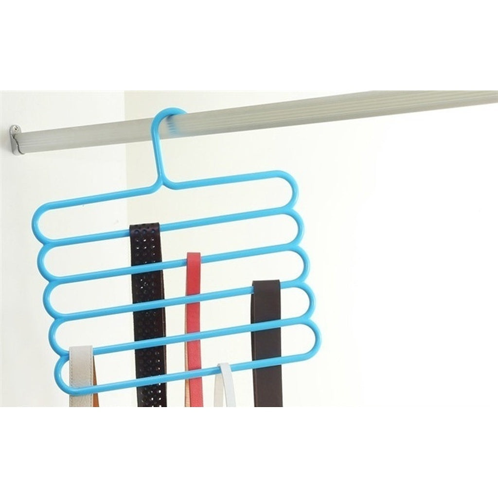 5 Multi Layer Racks Multifunctional Scarf Hanger Rack Skid Innovation