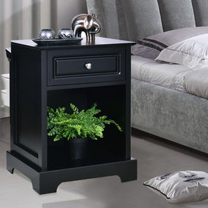 Giantex Night Stand - Black