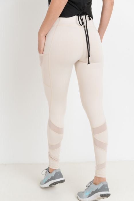 ZIG ZAG POCKETED LEGGING