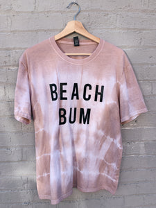 BEACH BUM TIE DYE TEE - ADULT