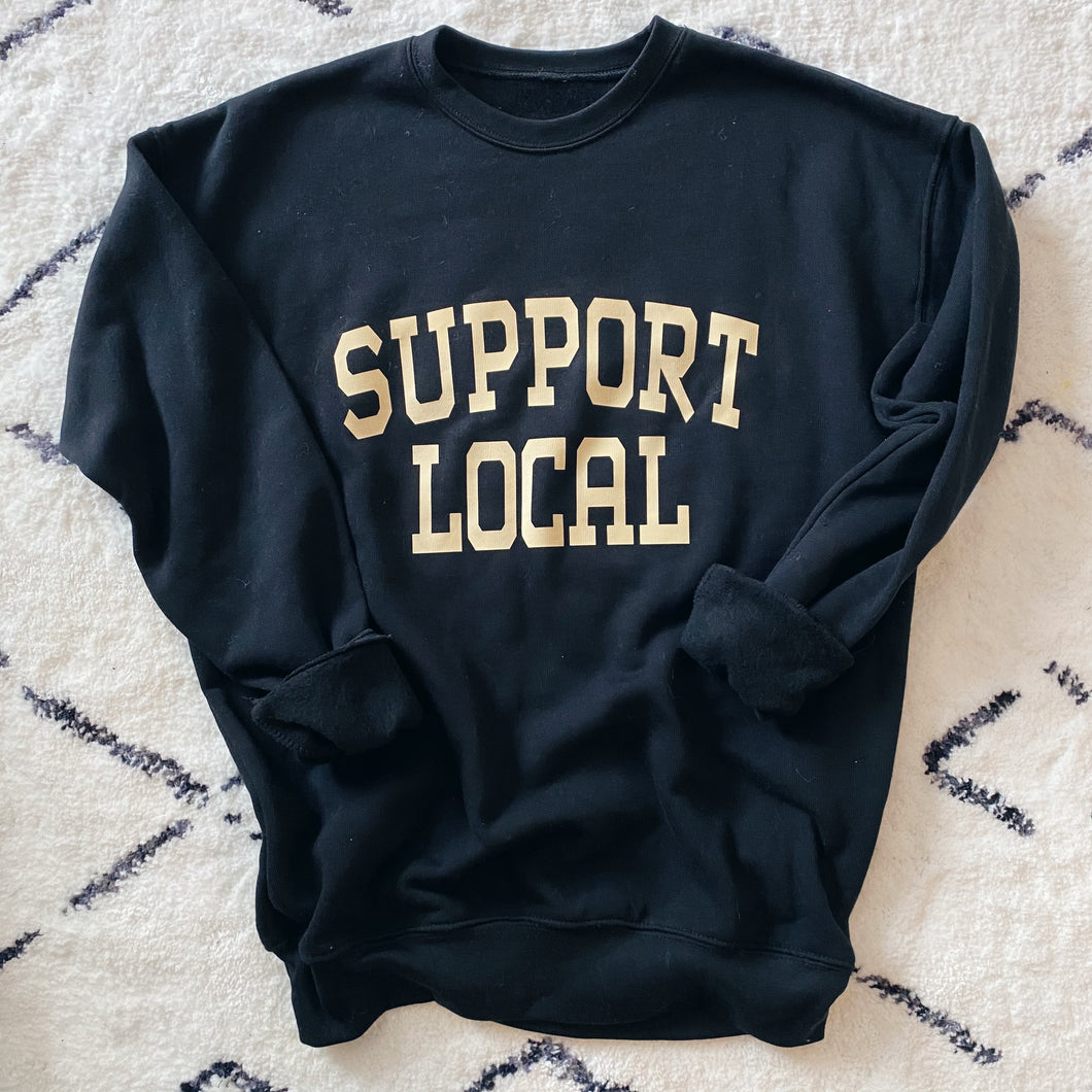 SUPPORT LOCAL SIGNATURE SOFT PULLOVER