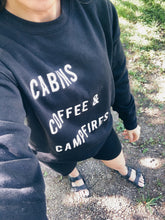 CABINS COFFEE + CAMPFIRES SIGNATURE SOFT PULLOVER