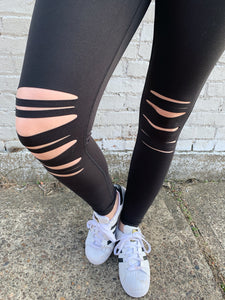 LASER CUT KNEE LEGGING