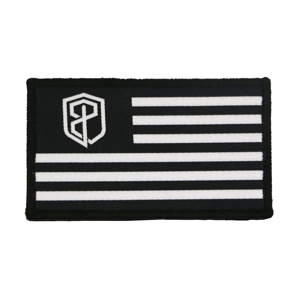 Born Primitive Velcro Flag Patch (USA Edition)