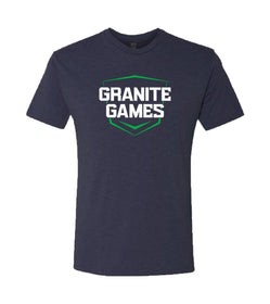 Official Granite Games Athlete T-Shirt (Navy Blue)