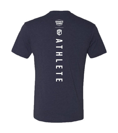 2019 Official Granite Games Athlete T-Shirt (Navy Blue)