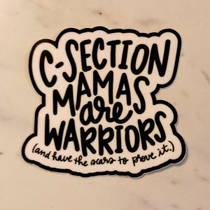 Csection Mama Sticker
