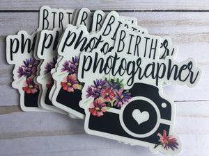 Birth Photographer Sticker