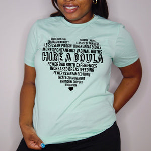 Hire A Doula Unisex Tee