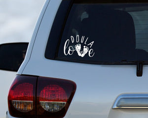 Doula Love Car Decal for Doulas