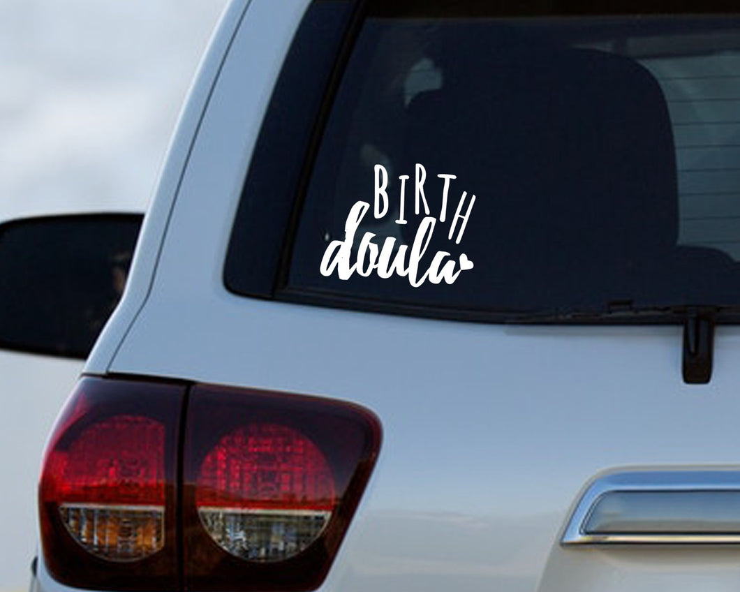 Birth Doula - Doula Car Decal