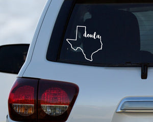 Texas Doula - Doula Car Decal