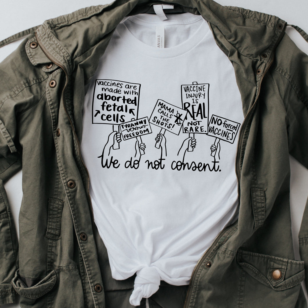 vaccine rights shirt