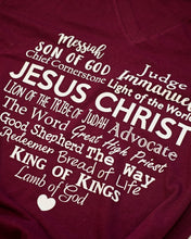Names of Jesus shirt