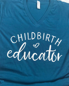childbirth educator shirt