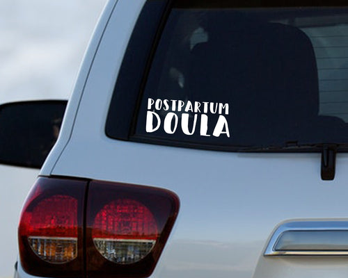 Postpartum Doula - Doula Car Decal