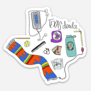 Texas Doula - Supplies Sticker