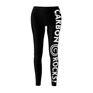 Carbon Rocks!™ Women's Cut & Sew Casual Leggings