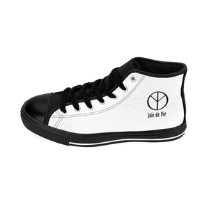 Joie de Vie / Love (Ai) Women's White High-top Sneakers