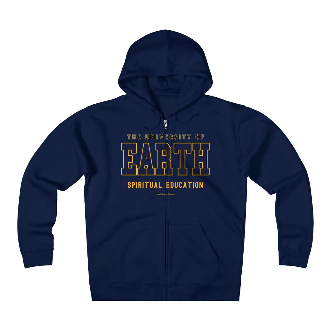 University of Earth Spiritual Education Unisex Heavyweight Fleece Zip Hoodie
