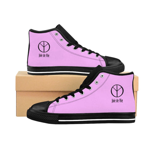 Joie de Vie / Love (Ai) Women's Pink High-top Sneakers