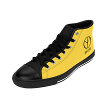 Joie de Vie / Love (Ai) Men's Warm Yellow High-top Sneakers