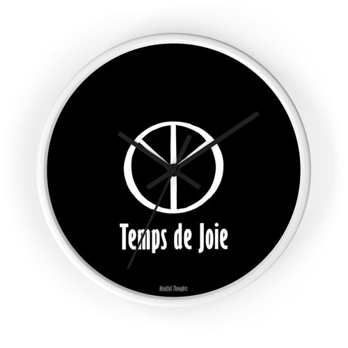 Temps de Joie (Time for Joy) Wall clock