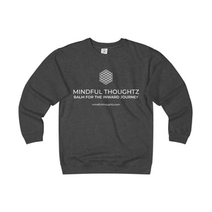 Mindful Thoughtz Logo Unisex Heavyweight Fleece Crew