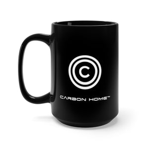 Carbon Home™ Black Mug 15oz