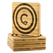 Carbon HOME™ Bamboo Coaster Set of 4