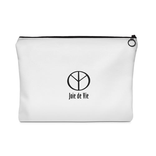 Joie de Vie / Love (Ai) Carry All Pouch - Flat