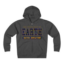 The University of Earth Water Education Unisex Heavyweight Fleece Zip Hoodie