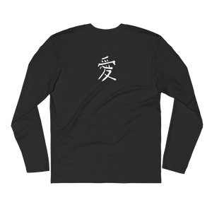 Motion Changes Everything Long Sleeve Fitted Crew