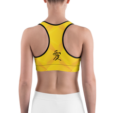Joie de Vie and Love [Kanji] Sports bra