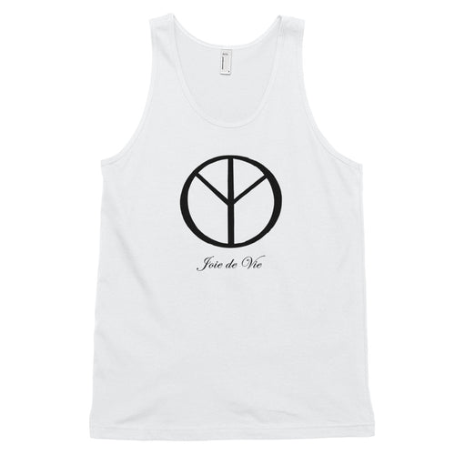 Joie de Vie and Love [Kanji] Classic tank top (unisex)