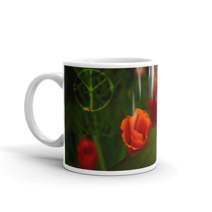 Orange Poppy Joy of Life Mug