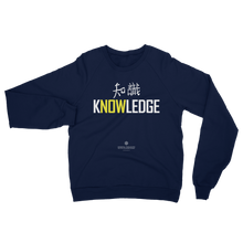 KNOWLEDGE/CHISHIKI Unisex California Fleece Raglan Sweatshirt