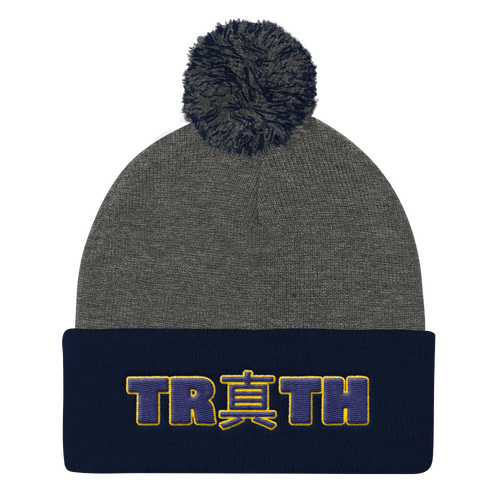 Truth (Shin) Pom Pom Knit Cap