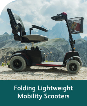 Folding Lightweight Portable Mobility Scooters