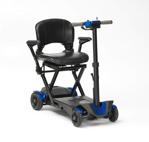Drive 4 Wheel Automatic Folding Mobility Scooter (Blue)
