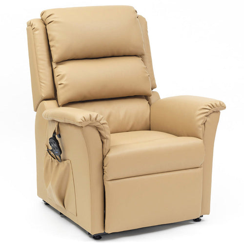 Nevada Anti-Microbial PVC Fabric Riser Recliner Armchair