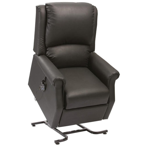 Chicago Single Motor Anti-Microbial PVC Fabric Rise Recliner Chair