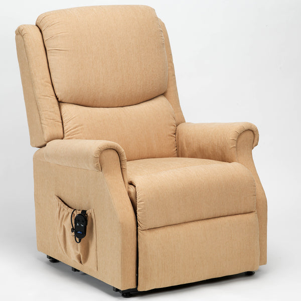 Indiana Single Motor Standard & Petite Riser Recliner Chair