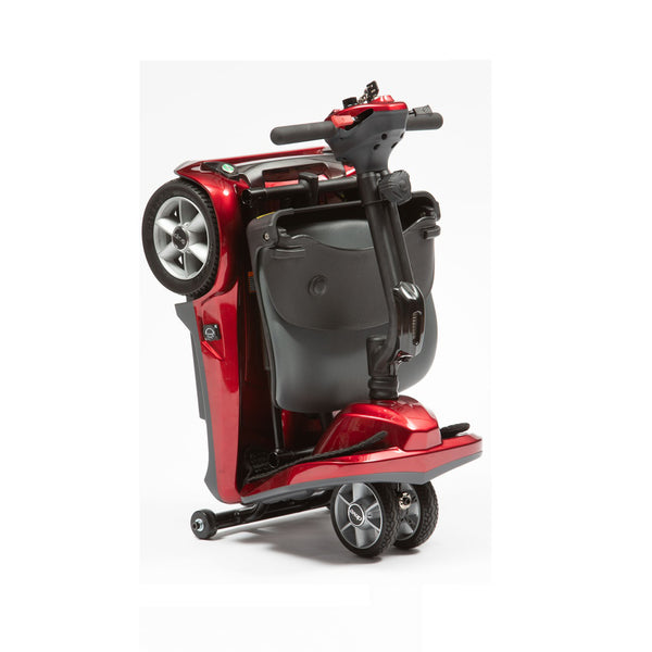 HW009 Dual Wheel Automatic Fold Mobility Scooter
